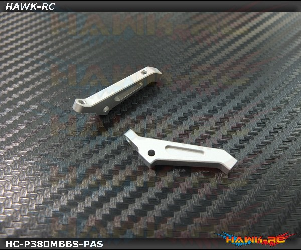 Hawk Creation MSH PROTOS 380 Metal Pitch Arm Set (Silver)